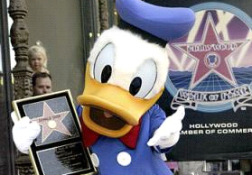 duck gets star