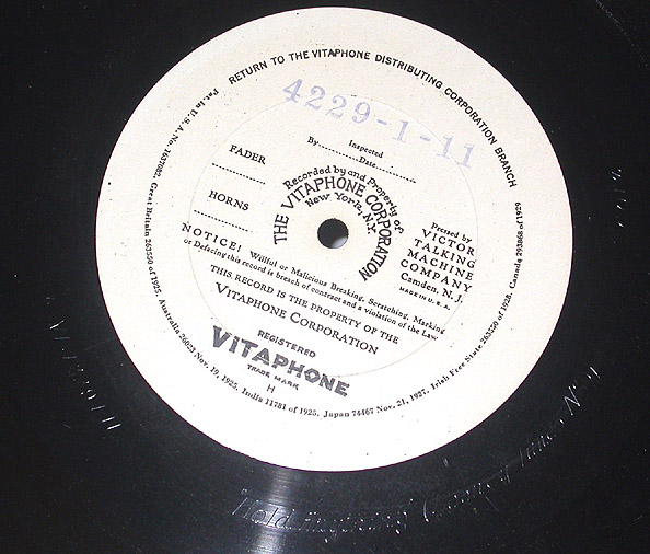 vitaphone label