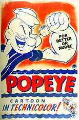 popeye one sheet