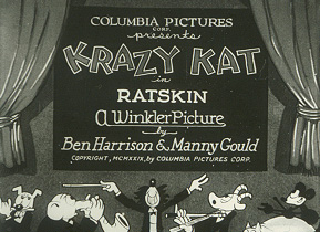 the first Columbia cartoon